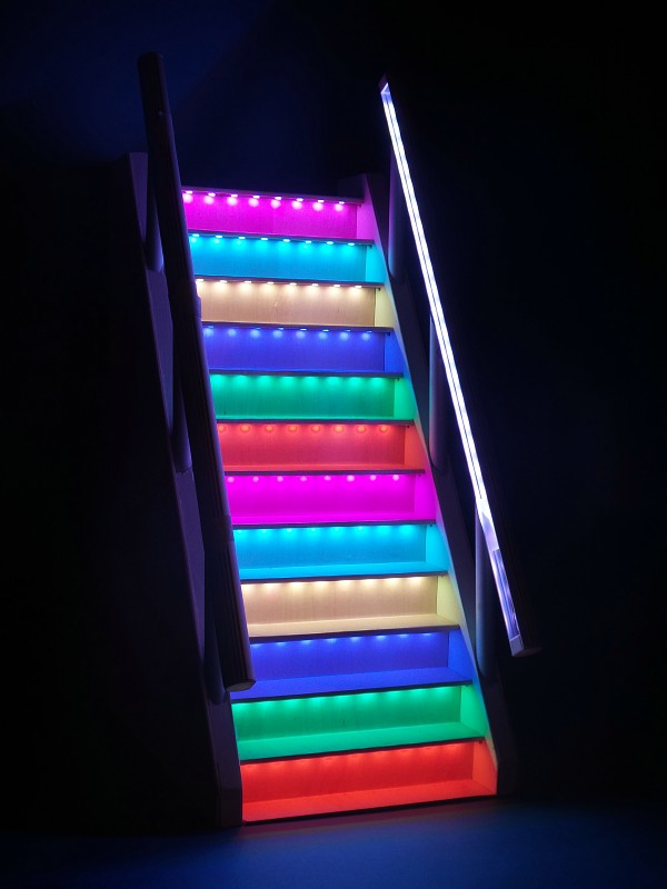 Stairs Lighting Controller Color Rgb Stx 1793 Led